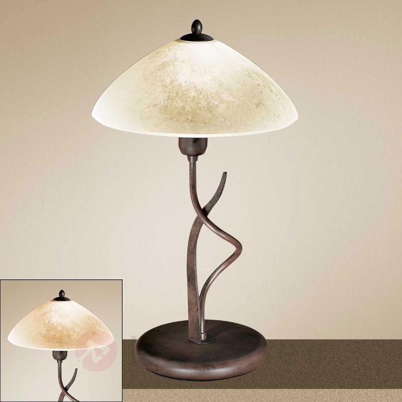 Lampe à poser rustique Samuele - Lampes à poser rustiques