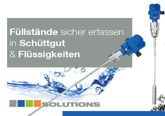 NivoGuide® NG 8000 - TDR-Sensor zur Füllstandmessung in Flüssigkeiten