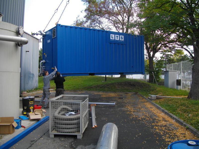 Chaudières mobile 3t/h - Chaudière vapeur en container maritime
