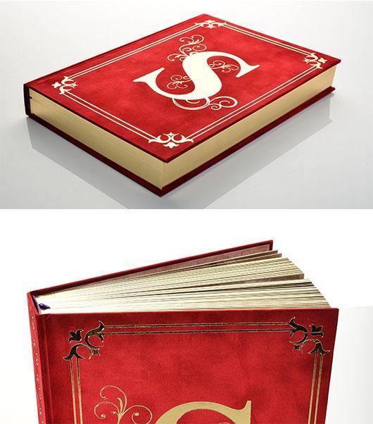 Hardcover books (case bound)