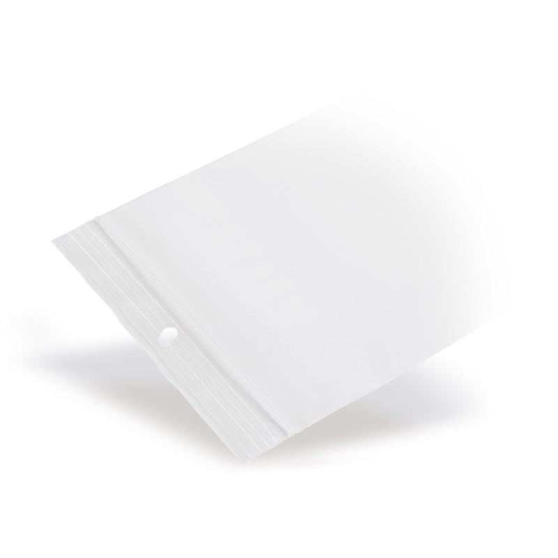 PP-Grip Seal Bags With Round Hole 50 µm - PP-Grip Seal Bags With Round Hole 50 µm