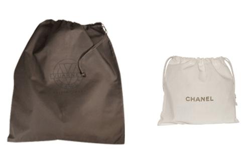 Dust bag coton et tissu