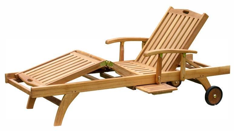 Teak Sun Lounger - Premium Teak Sun Loungers Products