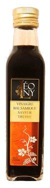 VInaigre Balsamique BIO saveur Truffe  - 6 % d'acidité LEONY