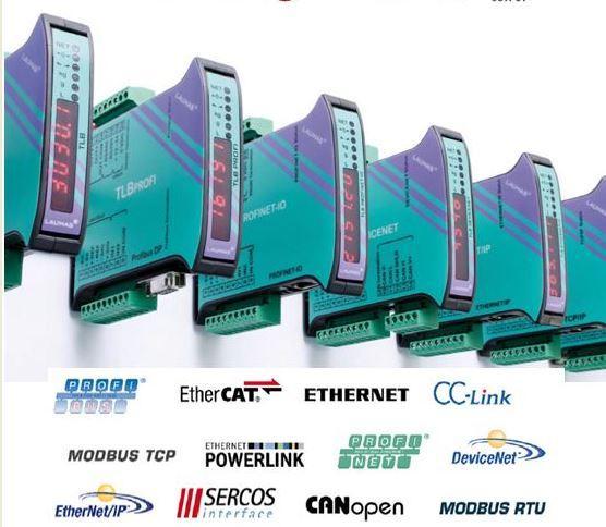 TLB Ethernet IP - TRANSMISOR DE PESO DIGITAL (RS485 - Ethernet/IP )