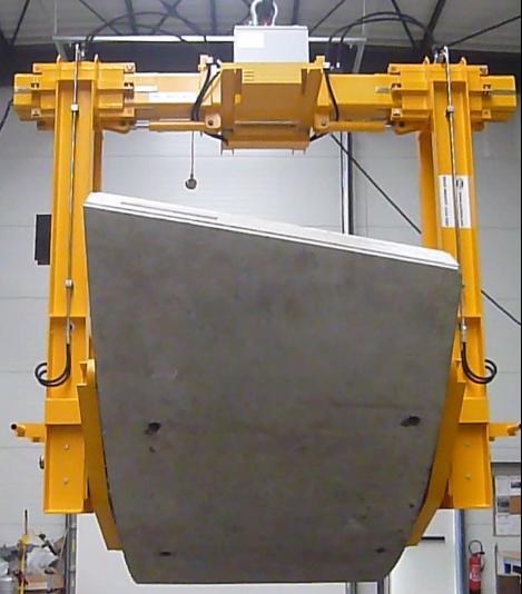 Pince Hydraulique de Retournement - Tunnel