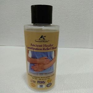Ancient healer constipation relief oil200ml  - constipation relief massage oil