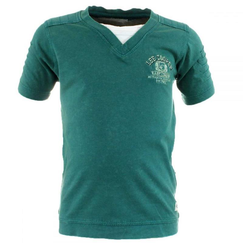 15x T-shirts manches courtes Lee Cooper du 6 au 14 ans - T-shirt et polo manches courtes