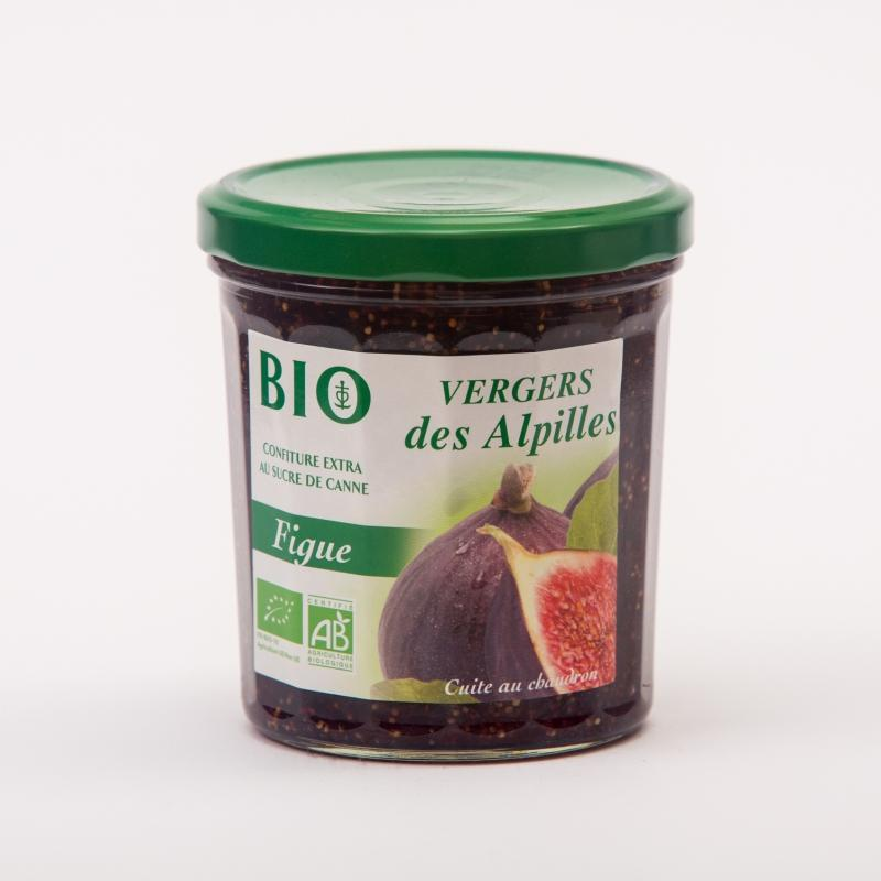 Vergers BIO - Figue - Confitures Biologiques au sucre de canne