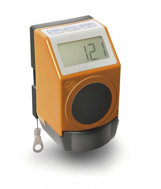 Sensor de tracción por cable SDE04 - Sensor de tracción por cable SDE04, Con indicación digital
