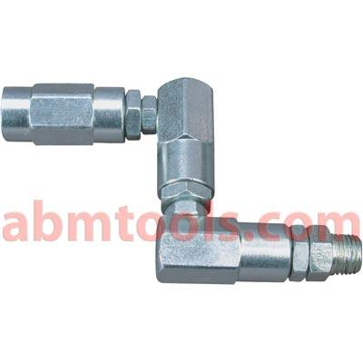 Hydraulic Flexible Connectors - Z Type Couplers - Special swivel connector for connecting lines at various angles
