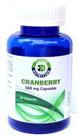 Cranberry Capsules - Cranberry Capsules
