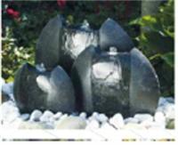 Fontaines modernes - FONTAINE FERERRA : dimension : diam : 30-40-50