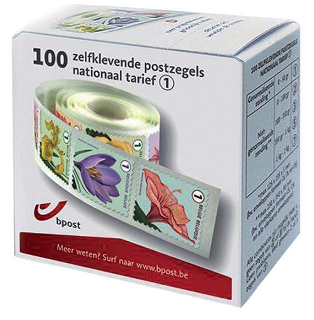 Zelfklevende postzegels