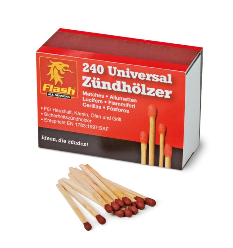 FLASH Zündhölzer 240 Stück - null