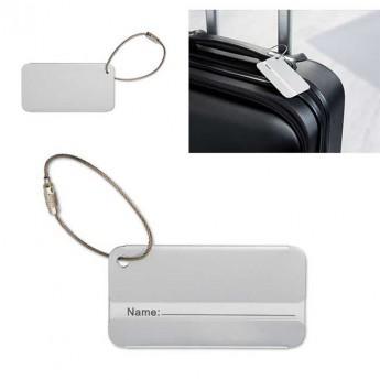 Étiquette bagage Aluminium A84 - Réf: A84