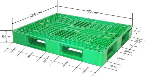 Plastic Pallet- Industrial - IPL1210