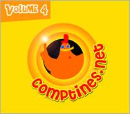 Comptines.net Vol. 4 - CD Audio | e-magine | 2008