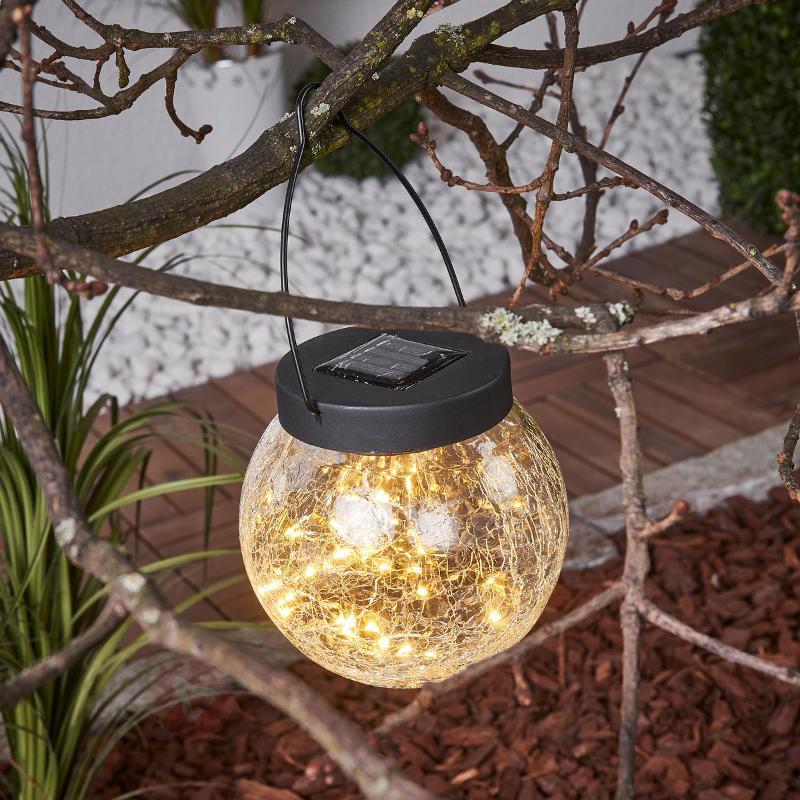 Petite ampoule solaire Glory à suspendre - Lampes décoratives d'extérieur