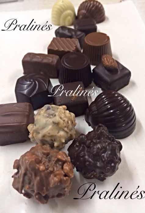 chocolat praliné - artisanal Val de Marne