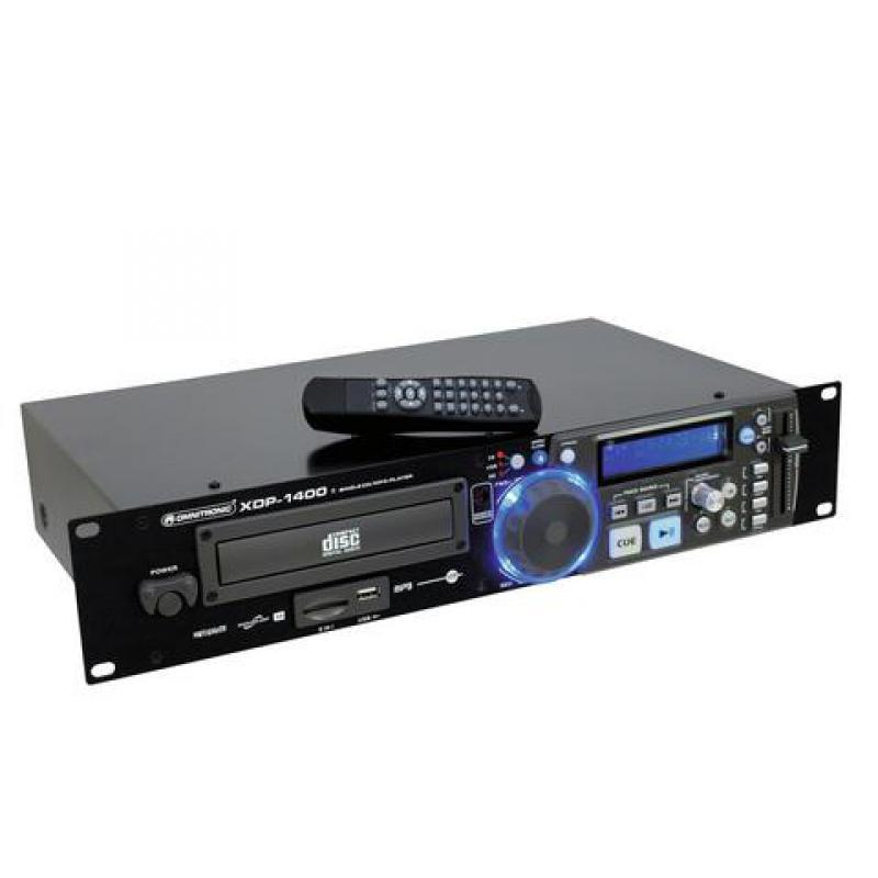 CD-Player mit MP3 Funktion - Omnitronic XDP-1400 CD-/MP3-Player