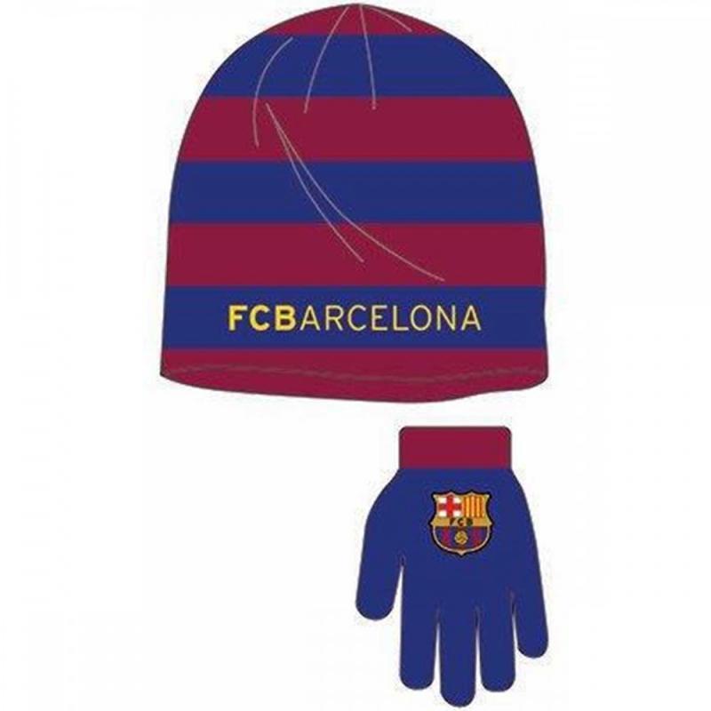 3x Bonnets et gants Barcelone - Bonnet Gant Echarpe