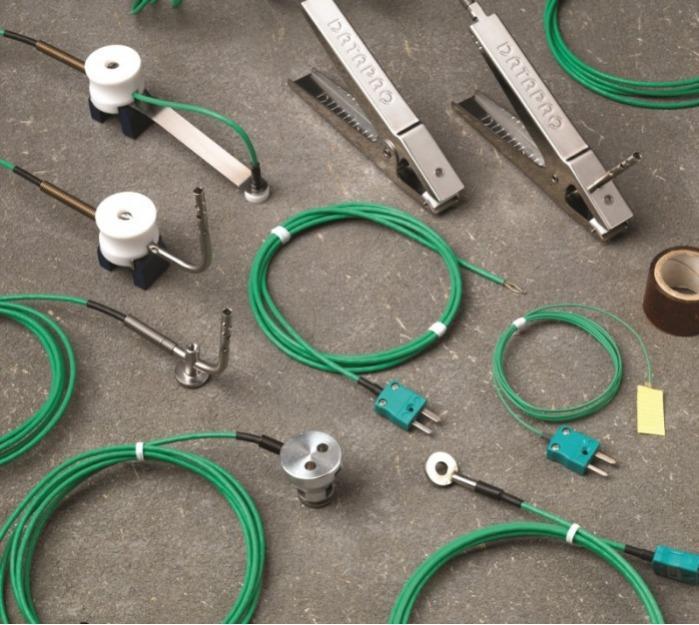 DATAPAQ Oven Tracker XL2 Magnet-/Aluminium-Thermoelemente - Thermoelemente für Temperaturprofilsystem für Automotive-Trocknungsöfen