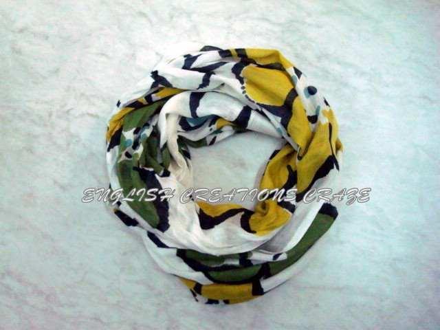 Viscose Lycra Printed Scarves - Viscose Lycra Printed Scarves