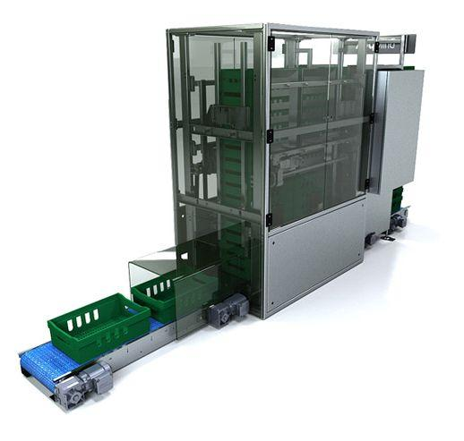Robot Palletisers - Crate Stackers & Destackers