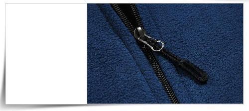 Контрастная куртка цвета - Куртка с пластиковой молнией
