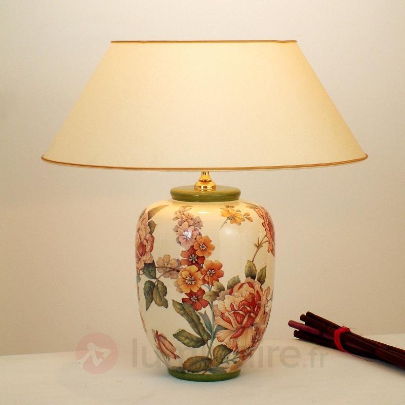Lampe à poser florale Potpourri - Lampes à poser en tissu