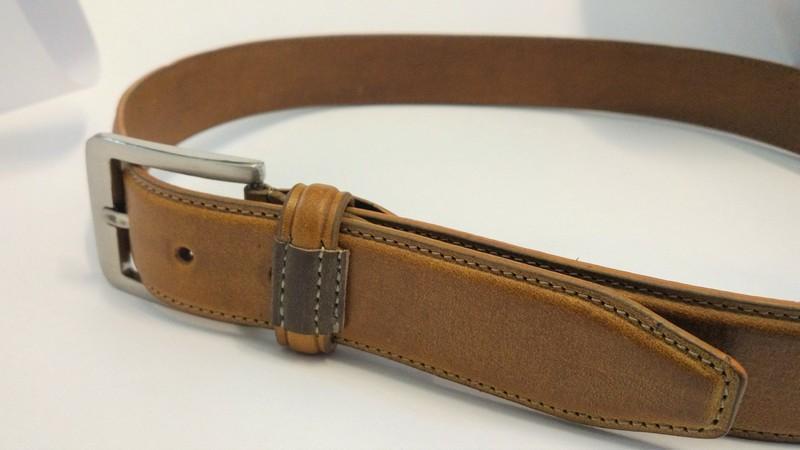 London Tan Formal Belt - FBB003 London tan colour Formal Belt
