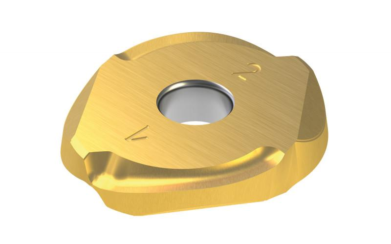 Wendeplatte CopyMax®1 - Single-sided insert for increases tool life und process reliability