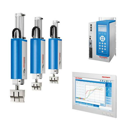 VE SLIMLINE systems - Actuator Ultrasonic welding systems