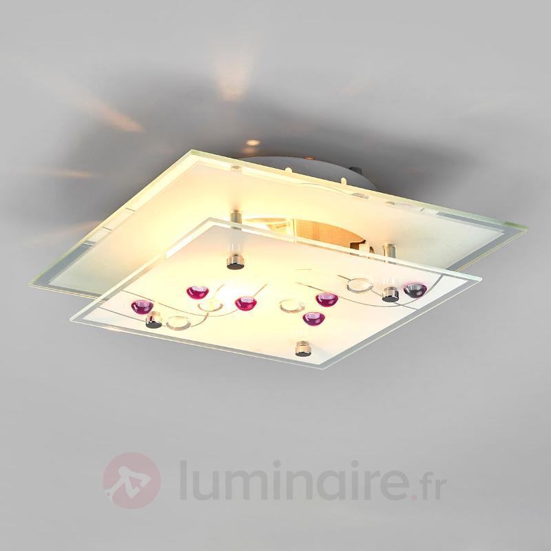 Plafonnier BALLERINA - Plafonniers en verre