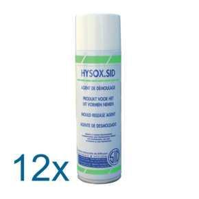 HYSOX.SID ct 12 aéro 650cc - Agent de démoulage sans silicone