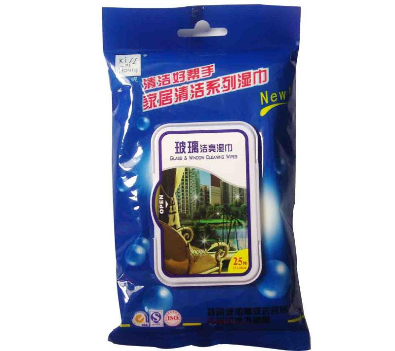 Glass & Window Cleaning Wipes 25S - null