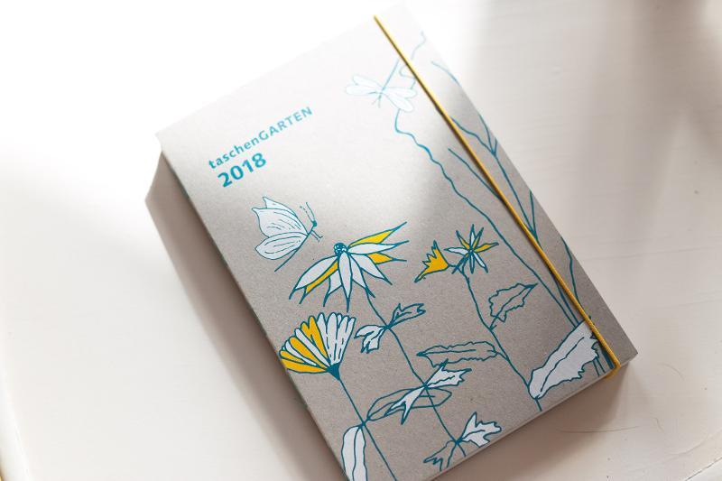 Taschen Garten - Calendar Hardcover book Notebook planer