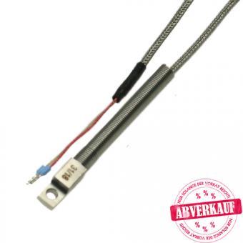 Surface probe 1xPt100/B/2, packing unit: 5 pcs. - Temperature probes