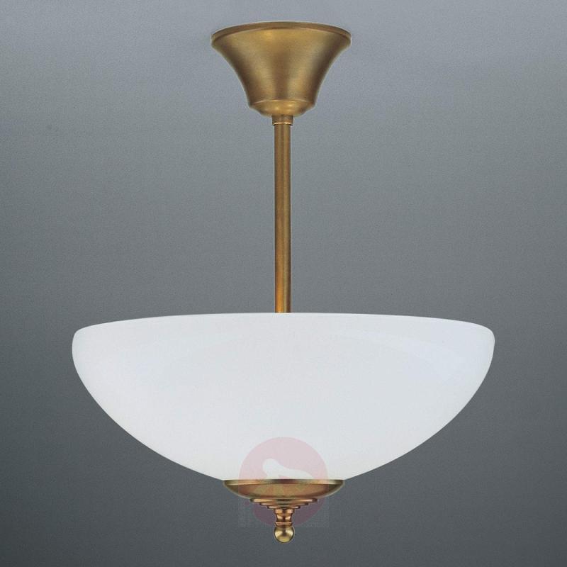 ANNI handmade ceiling light, brass - design-hotel-lighting