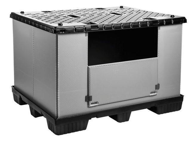 Faltbarer Großbehälter: Mega-Pack 1500 - Faltbarer Großbehälter: Mega-Pack 1500, 1500 x 1200 x 1000 mm