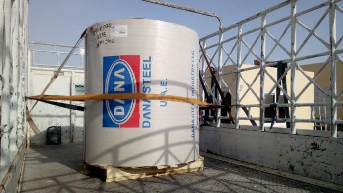 Prepainted Galvanized Galvalume Steel PPGI PPGL - DANA STEEL - PPGI PPGL Coils Manufacturer & Supplier in AFRICA UAE SAUDI ARABIA