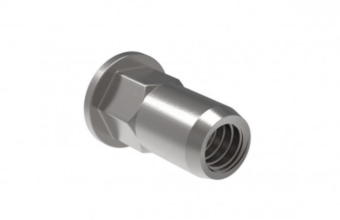 Blind rivet nut High Strength - For all applications where a particularly strong thread is required.