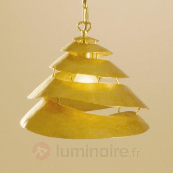 Suspension spirale SNAIL ONE, fer, doré - Suspensions design