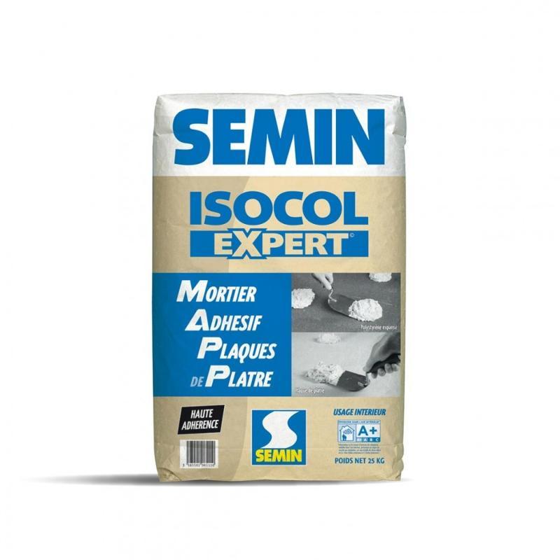 ISOCOL EXPERT - Mortier adhésif haute adhérence