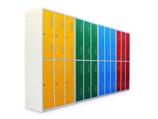 Multi-tier lockers - null
