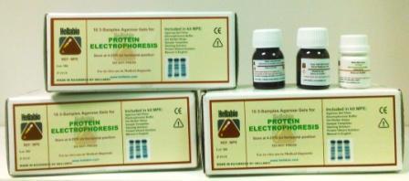 Protein electrophoresis kit