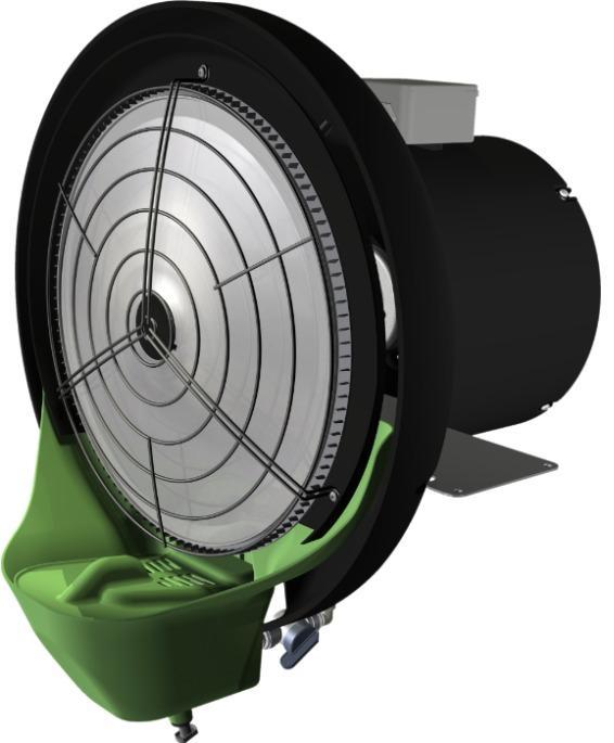 UCP-fly - Umidificatore – raffrescatore