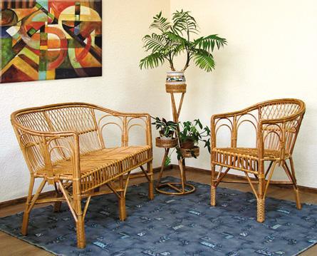 мебель из лозы - кресло, диваны