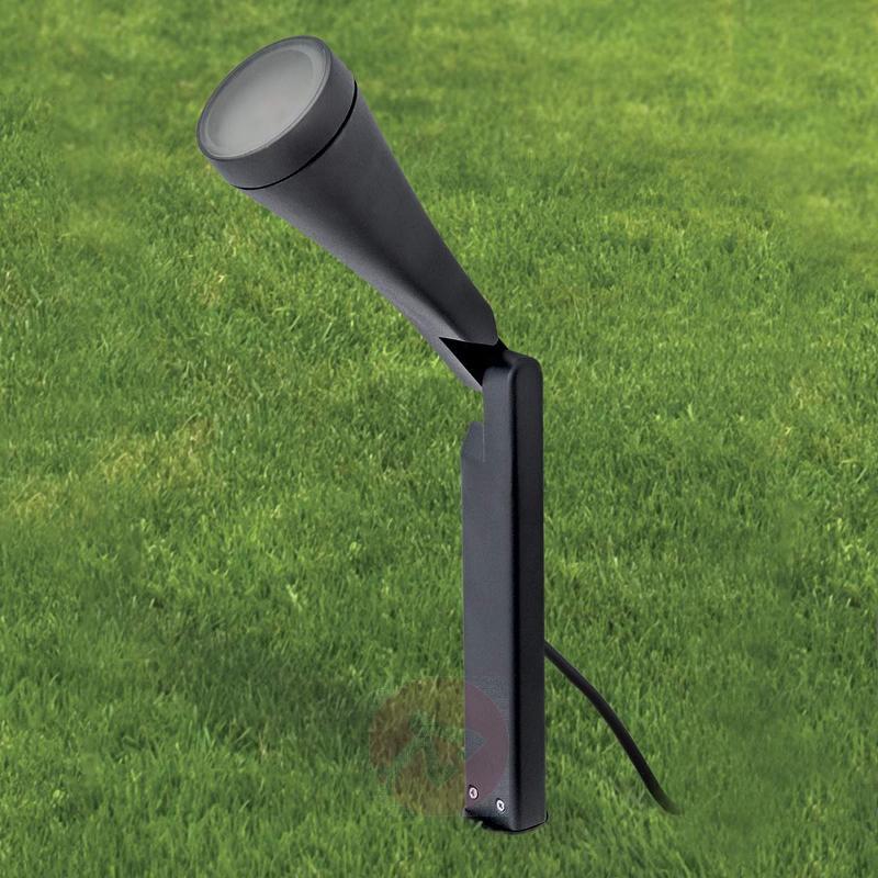 LED pedestal light Davin with ground spike - Pillar Lights